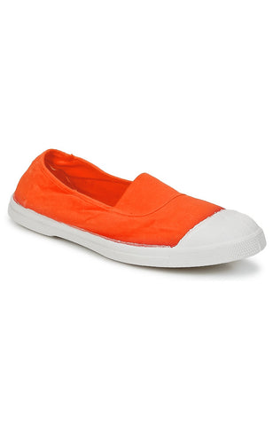 Tennis Elastique Femme - Orange