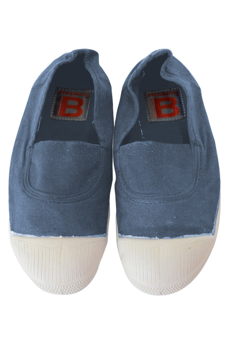 Tennis Elastique Ado - Denim