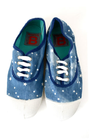 Tennis Bleached Star Ado - Blue