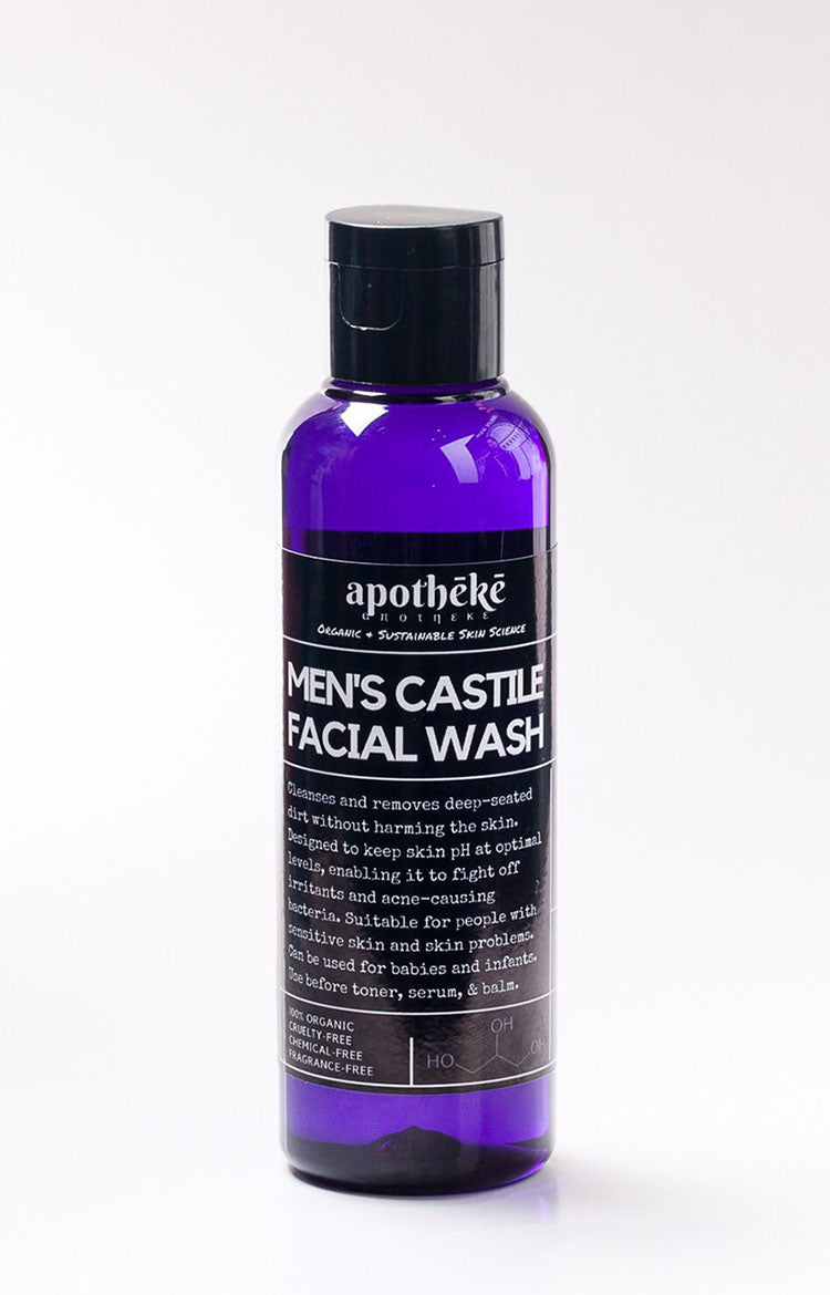 Castile Facial Wash for Men