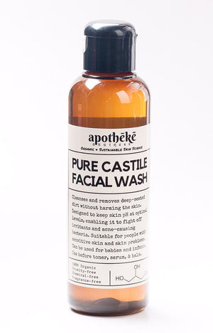 Castile Facial Wash for Women
