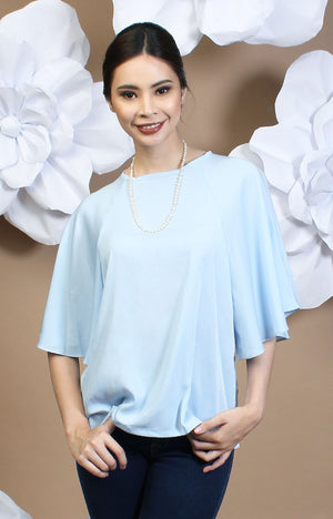 Calla Blouse - Baby Blue