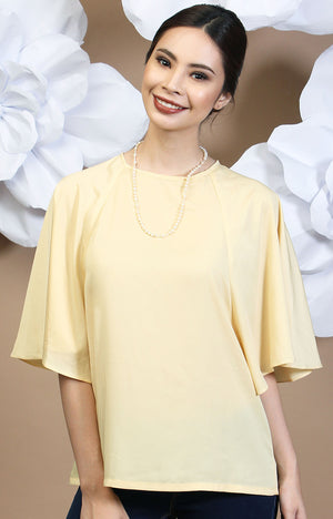 Calla Blouse - Yellow