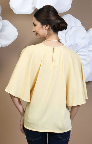 Calla Blouse -Yellow
