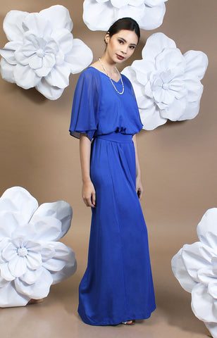 Sophia Maxi Dress -Blue
