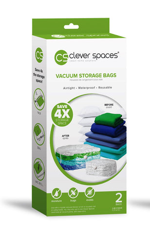 Clever Spaces Vacuum Storage Bags (Cube)