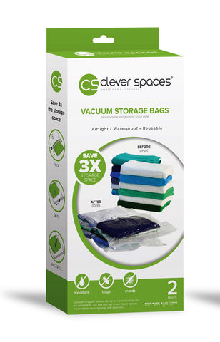 Clever Spaces Vacuum Storage Bags (Large)