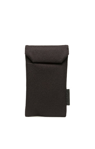 Fabric Pouch for iPhone - Black Mulberry