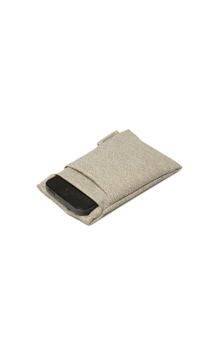 Cote&Ciel Fabric Pouch for iPhone - White Pebble