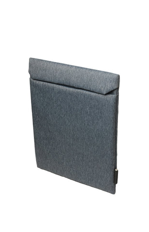 Fabric Pouch for iPad - Navy Melange