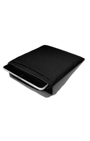 Fabric Pouch for iPad - Black
