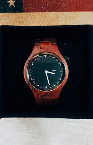 Crafted and Worn - Viktor in Red Sandalwood