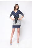 Tilda Dress in Navy Blue