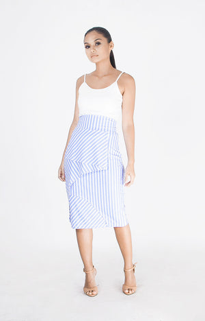 Siren Skirt Blue