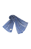 CRINKLED DENIM SCARFIE