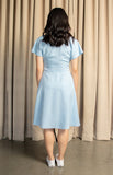 Mae Dress in Blue