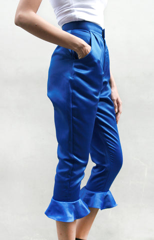 Drew Trousers - Blue