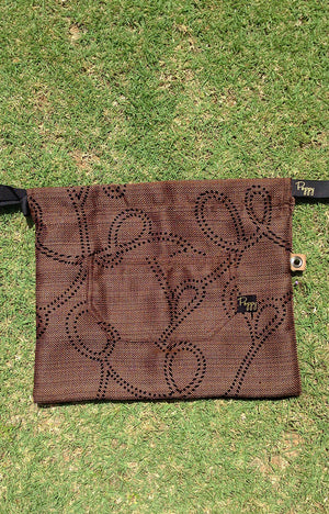 Large PIXIE DUSTBAG -Chocolate Brown