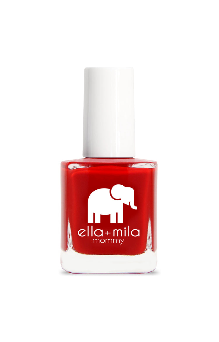 Ella + Mila Nail Polish: Paint the Town Red
