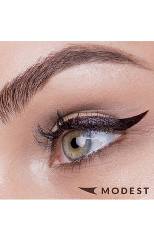The Quick Flick Eyeliner: Modest 10mm