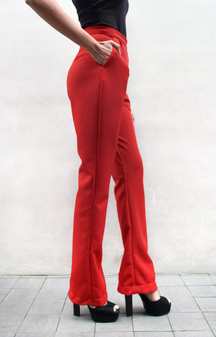 Finn Trousers - Red
