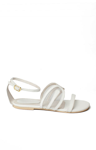 Athena Sandals - White