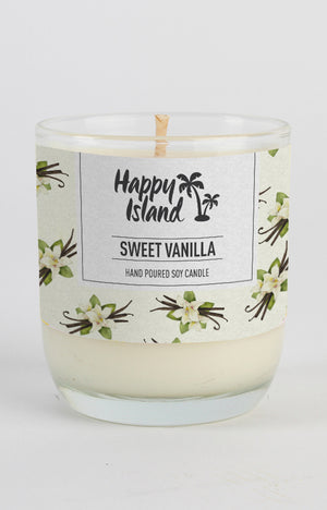 Scented Soy Candle- Sweet Vanilla 8oz/ 240 ML