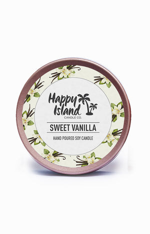 Scented Soy Candle- Sweet Vanilla 2 oz/ 60 ML