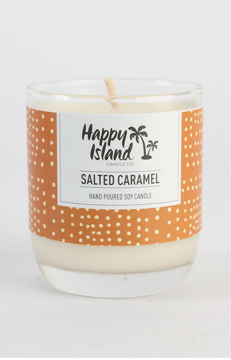 Scented Soy Candle- Salted Caramel 8oz/ 240 ML