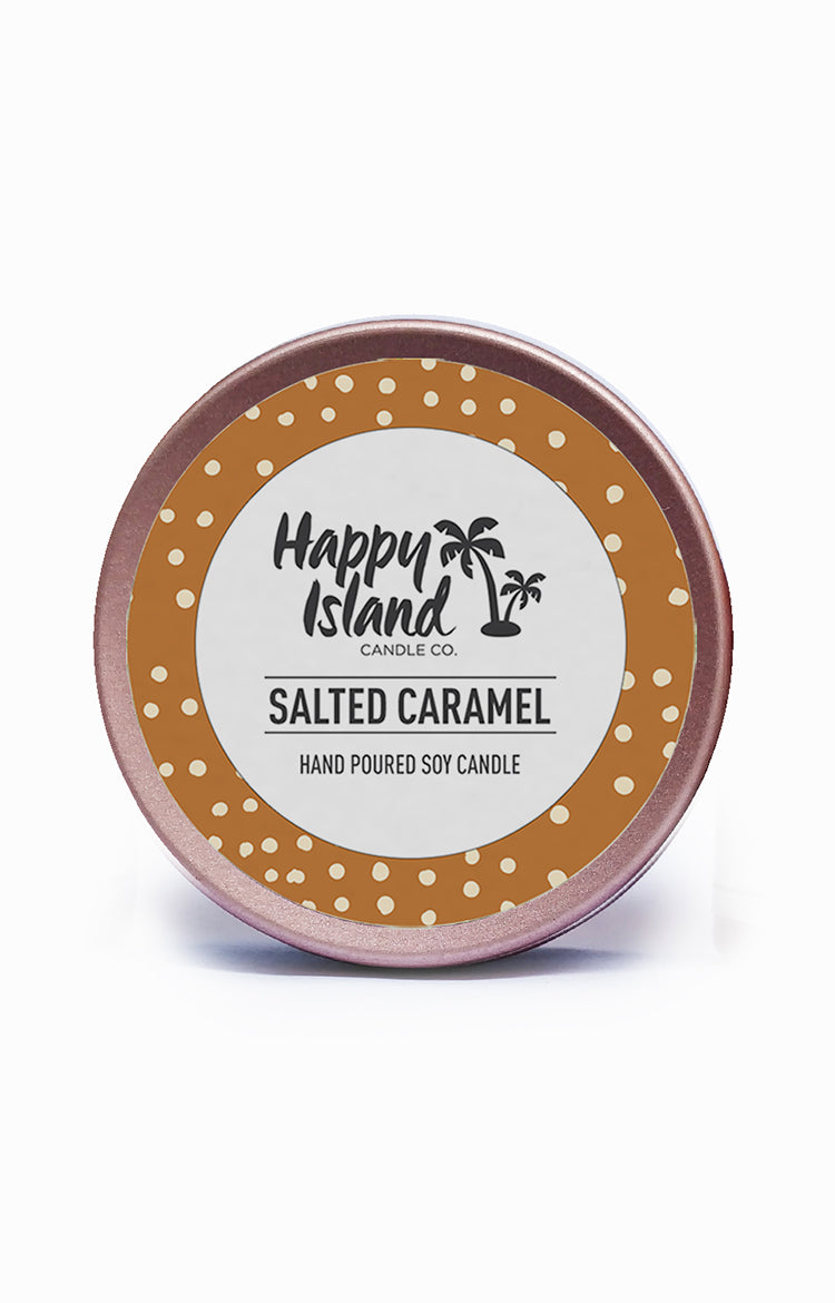 Scented Soy Candle- Salted Caramel 2 oz/ 60 ML