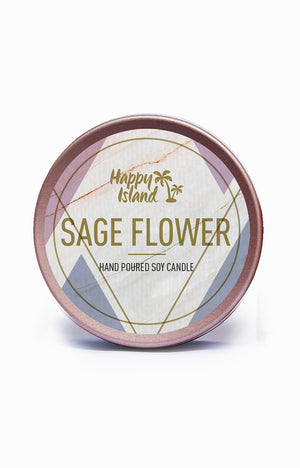 Scented Soy Candle - Sage Flower 2 oz/ 60 ML