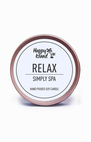 Scented Soy Candle- Relax 2 oz/ 60 ML