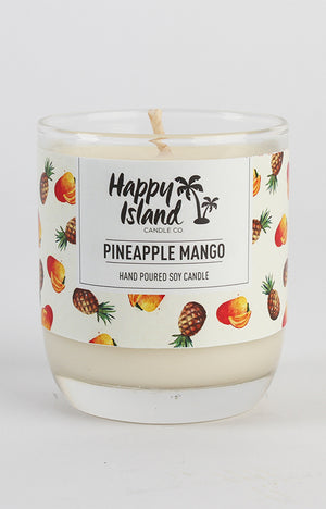 Scented Soy Candle- Pineapple Mango 8 oz/ 240 ML
