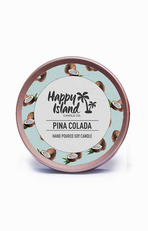 Scented Soy Candle- Pina Colada 2 oz/ 60 ML
