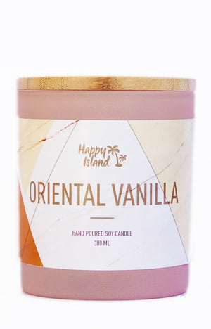 Scented Soy Candle - Oriental Vanilla 10 oz/ 300ML