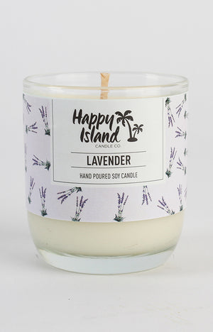 Scented Soy Candle- Lavender 8oz/ 240 ML