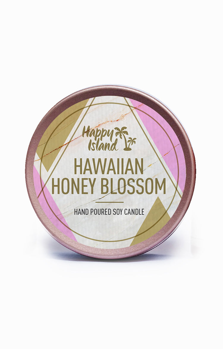 Scented Soy Candle - Hawaiian Honey Blossom 2 oz/ 60 ML