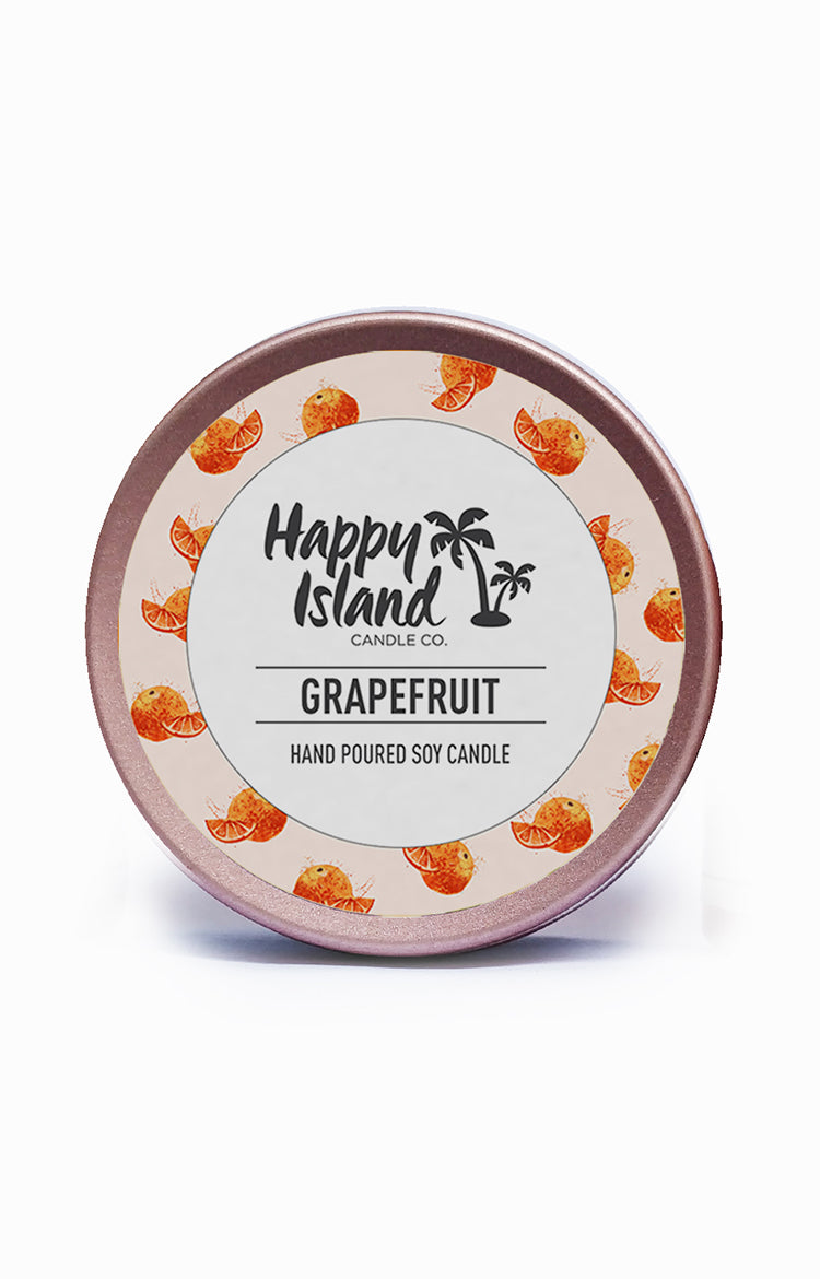 Scented Soy Candle- Grapefruit 2 oz/ 60 ML