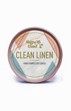 Scented Soy Candle - Clean Linen 2 oz/ 60 ML