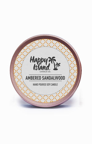 Scented Soy Candle- Ambered Sandalwood 2 oz/ 60 ML