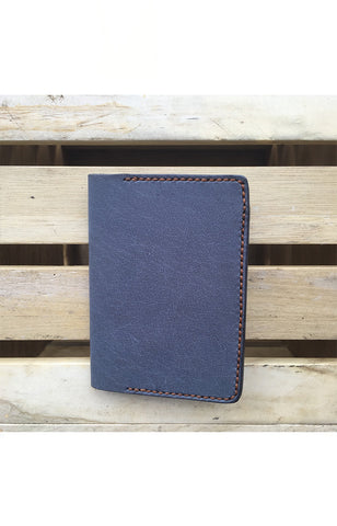 HUEVO Passport Sleeve-Blue