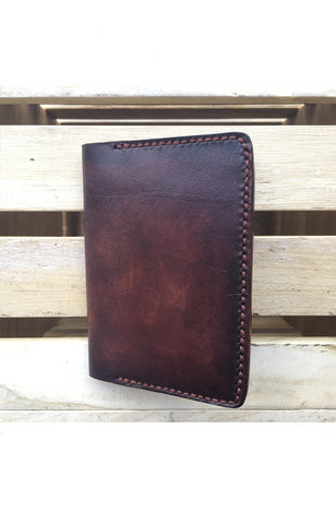 HUEVO Passport Sleeve-Cordovan