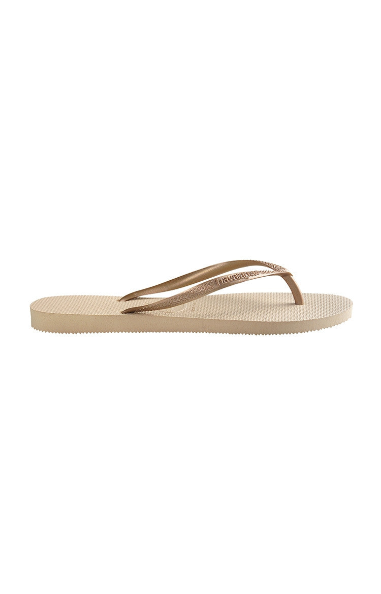 Havaianas Slim Sand - Grey and Light Golden