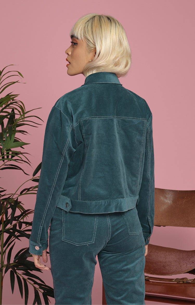 Rachel Jacket in Teal