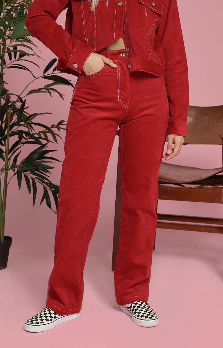 Ann Pants in Red