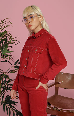 Rachel Jacket in Red