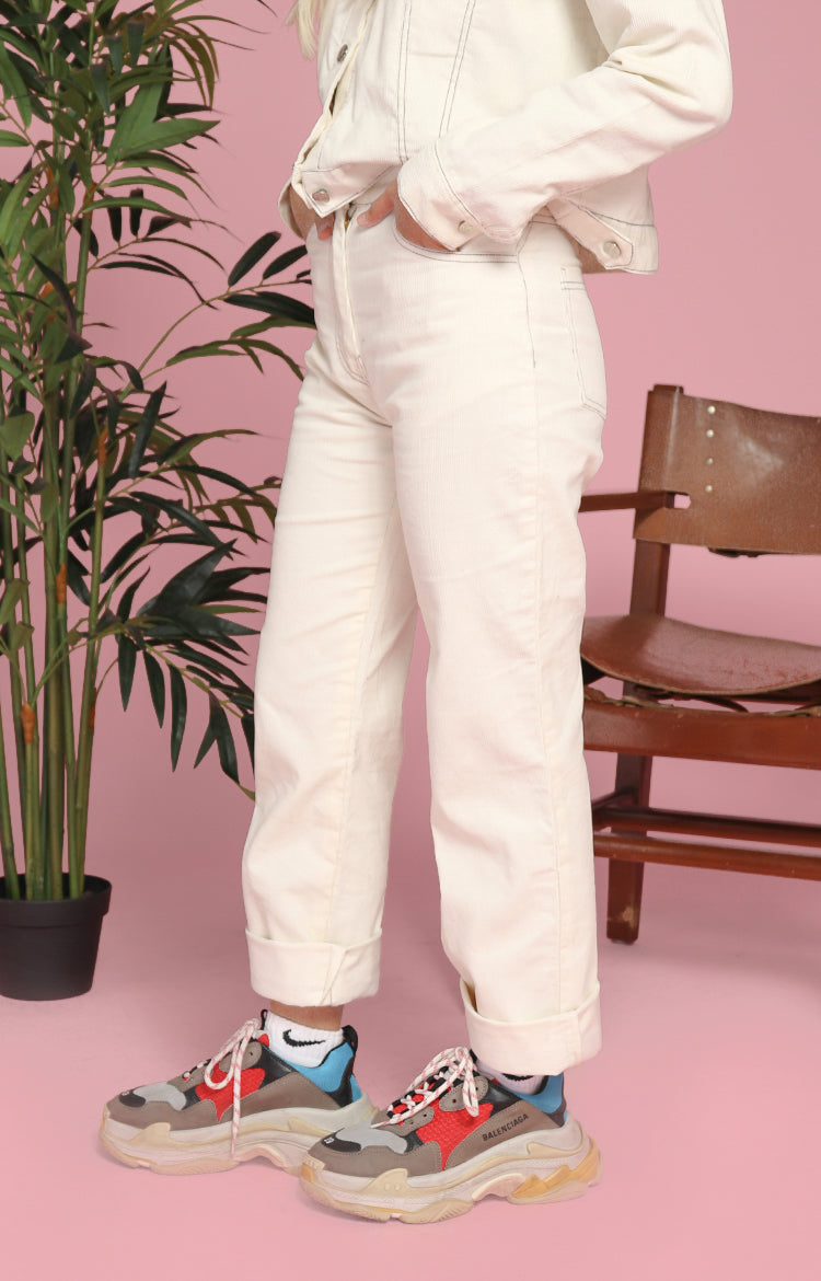 Ann Pants in Off-White