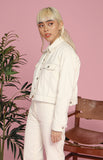 Ida Jacket and Pants Set in Off-White