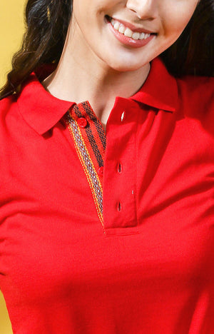 Women's Sports Shirt -Red
