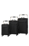 World's Lightest Luggage-Black-Small